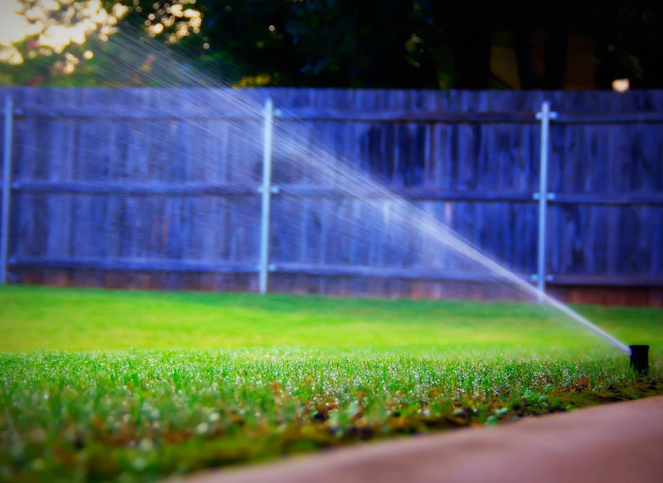 Successful sprinkler repair in Canoga Park, California